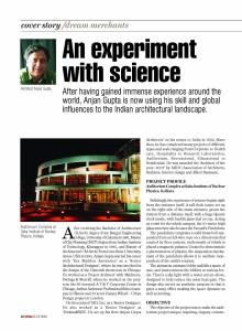 COVER STORY EPC&I- Architect Anjan Gupta Page 1