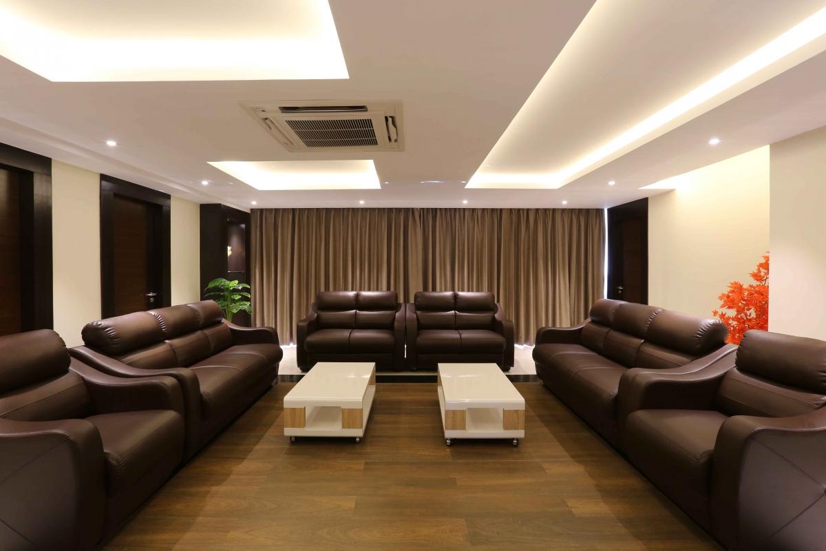 Hindustan petroleum corporation ltd anjan gupta architects for Living area design