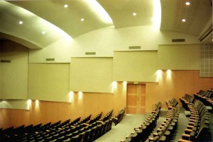 Interior view of the Auditorium